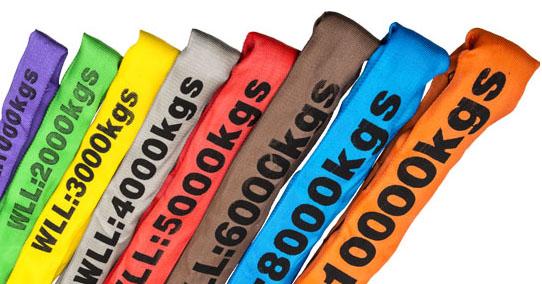 Round sling Colours Horiz