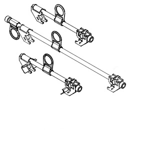 Beam Clamp Anchor points