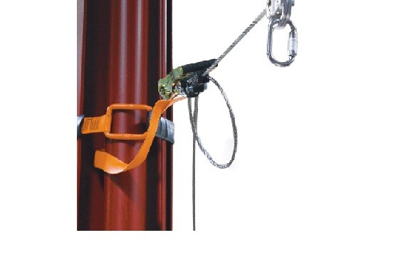 Temporary Horizontal Lifeline System