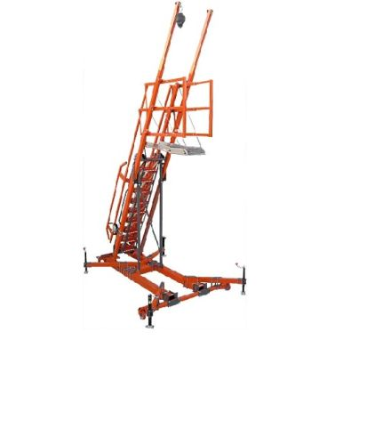 Free-Standing Mobile Access Stair System