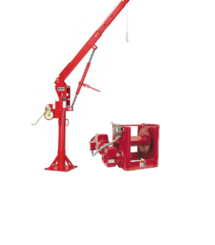 5pt30 Electric Portable Davit Frame