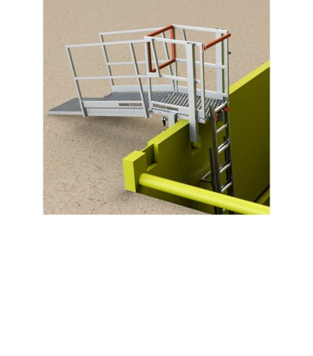 BTRENCHSAFE® Access / Egress Shoring Platform & Telescopic Walkway