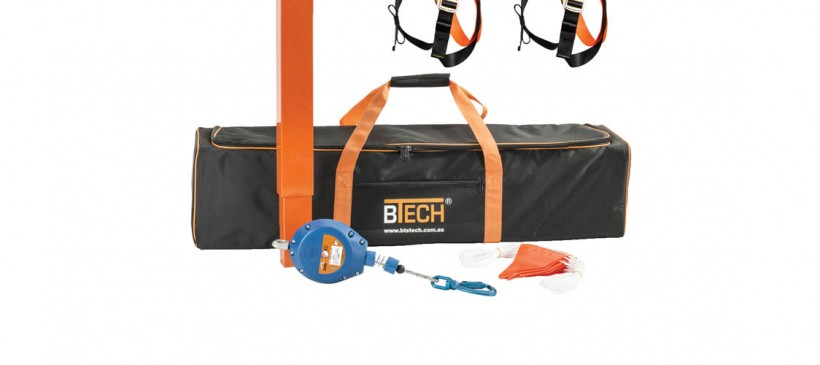 BTRENCHSAFE® Fall Arrest Post Kit
