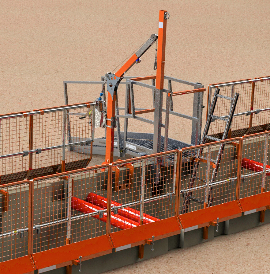 Barrier-Mesh-Orange-Action-2