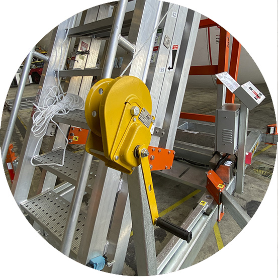 Materials winch