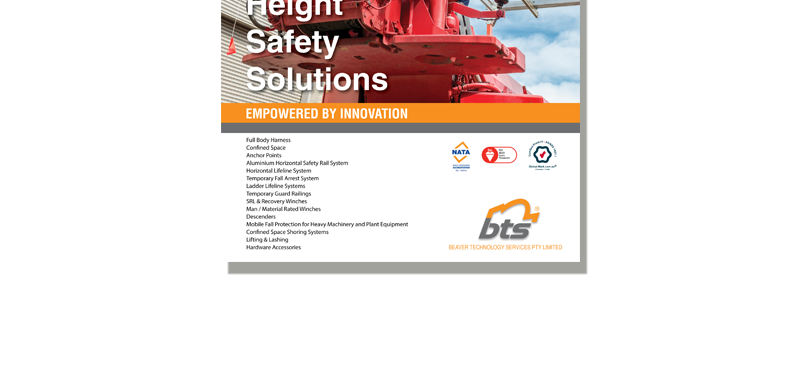 BTS Height Safety Solutions Catalogue