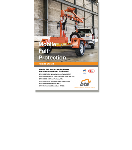 BTS Mobile Fall Protection Catalogue