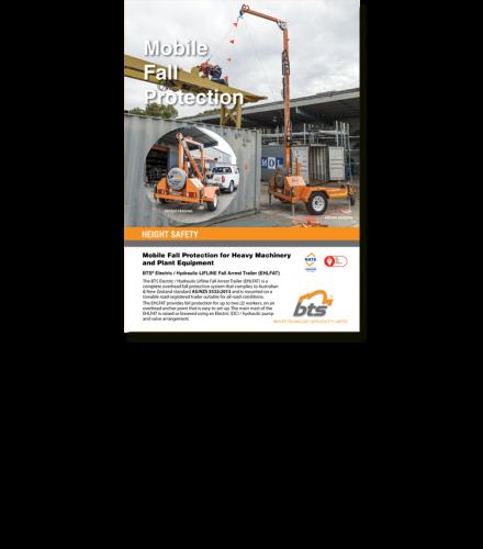 BTS Electric/Hydraulic LFAT Trailer Flyer