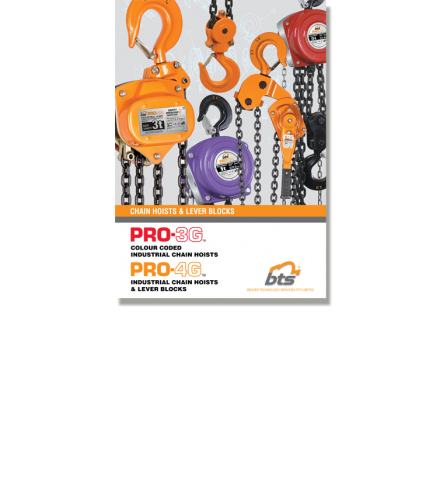 BTS PRO-3G & 4G Industrial Chain & Lever Blocks Brochure