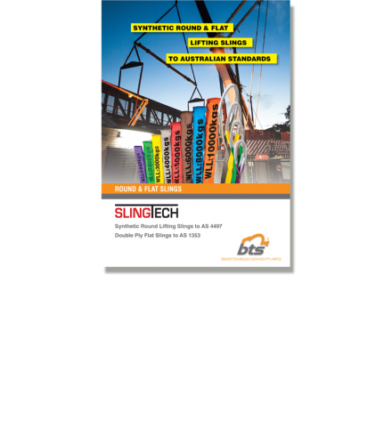 SLINGTECH Synthetic Round & Flat Lifting Slings Brochure