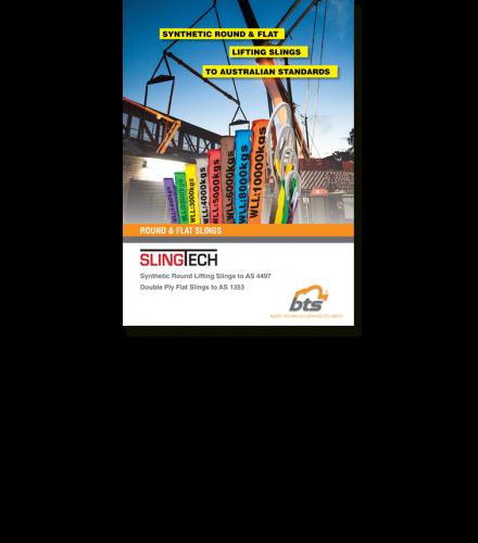 SLINGTECH Synthetic Round & Flat Lifting Slings Brochure