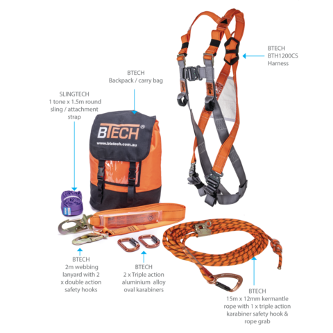 BTR1100 Roofers Kit What's Included
