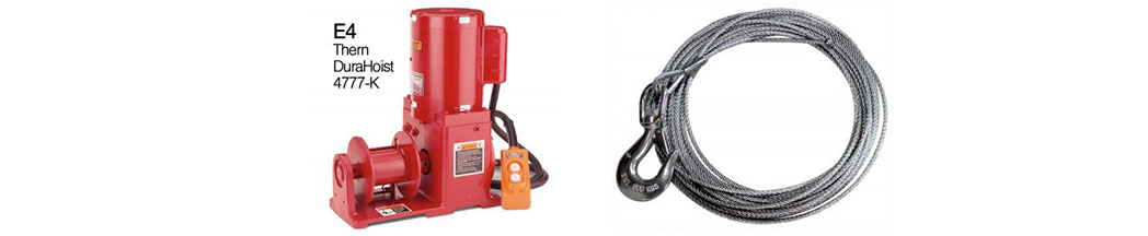 E4-winch-&-304ss-Wire Rope