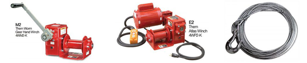 M2-and-E2-Winch-and-304ss-wire-rope