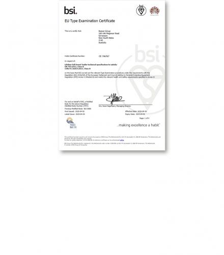 CE 706767 – BTS AirHook Jnr Trailer