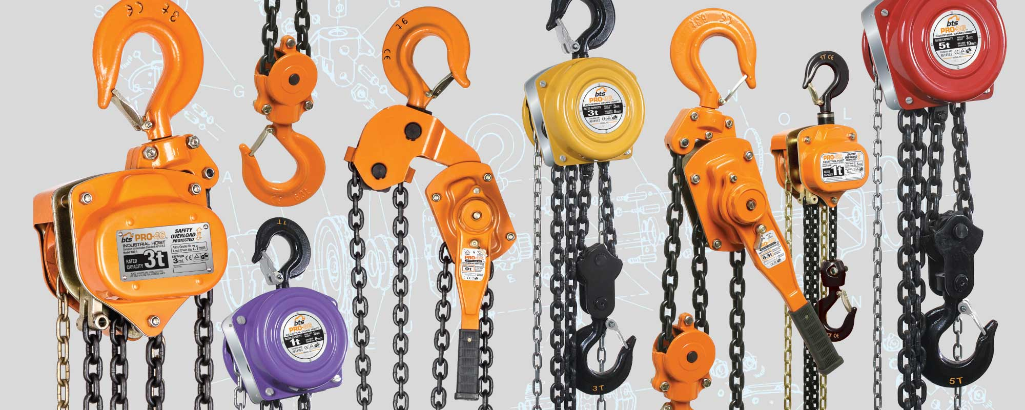 Chain & Lever blocks