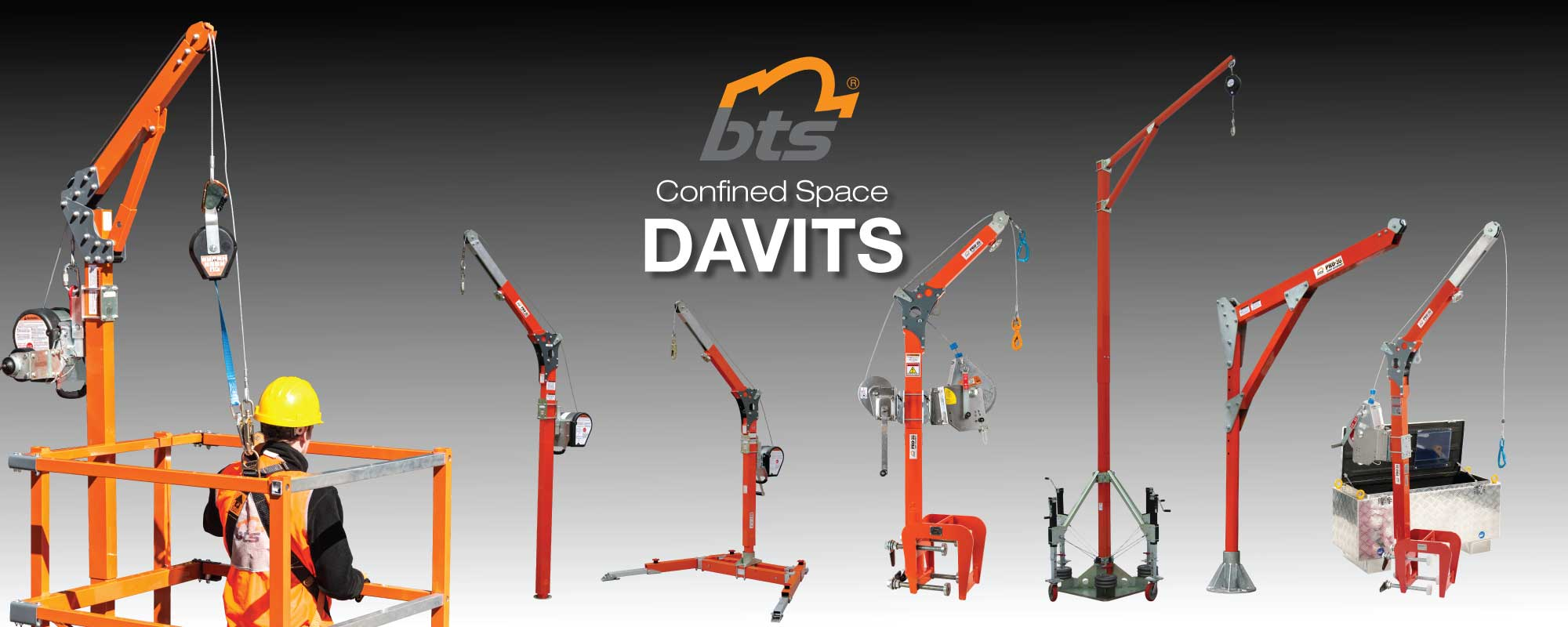 Confined Space Davits