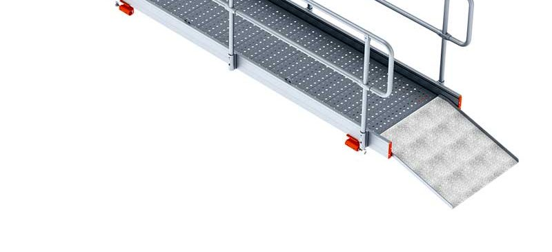 BTRENCHSAFE® Aluminium Cross Over Walkway