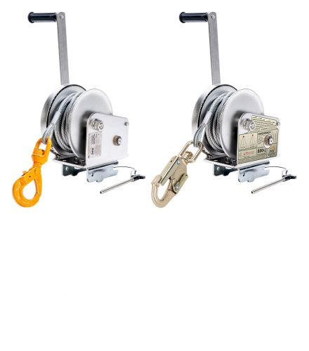 BTECH Stainless Steel Hand brake Materials Winch