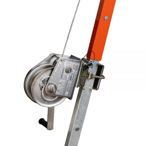 Material Winch on Tripod
