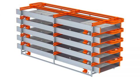 BTRENCHSAFE Cross Over walkway Flat Pack for transport & Storage
