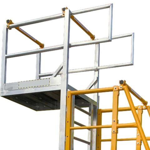 Front, Back & ladder safety boom arm