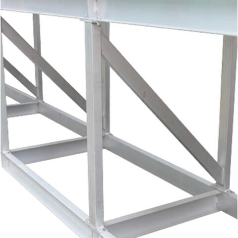 Box section and channel supports