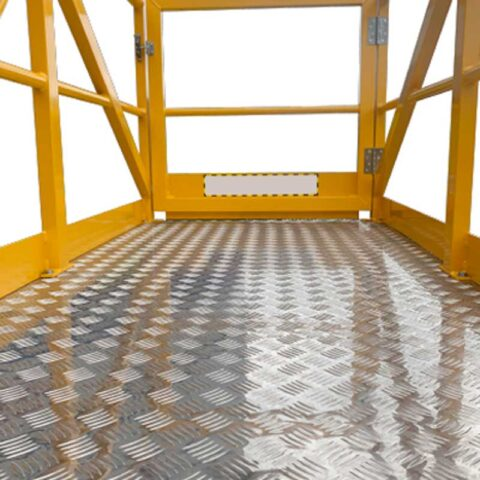 Cantilever Features Checker Plate