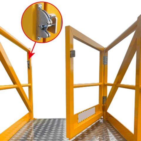Cantilever Features Auto lock Gate