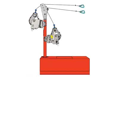 BTRENCHSAFE® Mobile Anchor Cube (MAC)