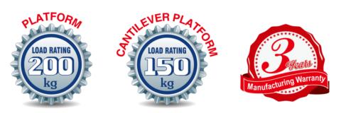 Load Rating & Warranty