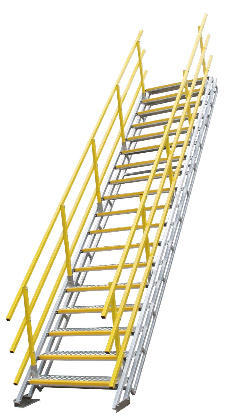 Self Levelling Stairs - Double