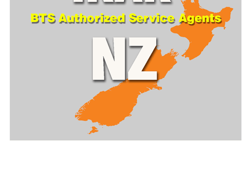 BTS Service Agent New Zealand