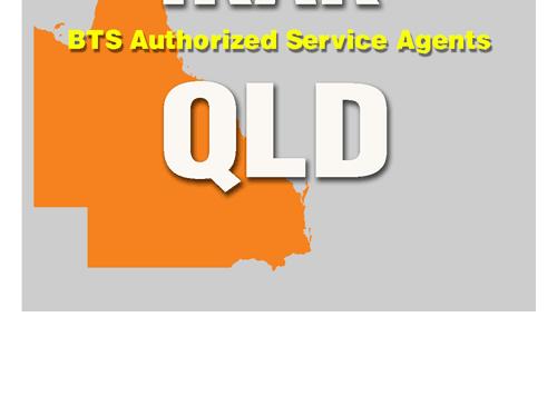 BTS Service Agent Queensland