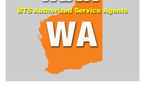 BTS Service Agent Western Australia