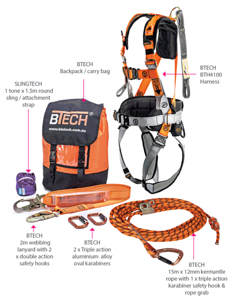 BTR4100 Roofers Kit What's Included